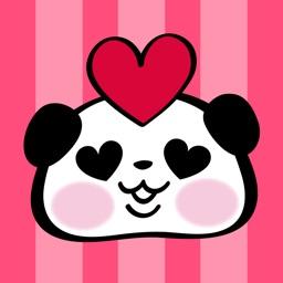 Pandaaa!!! Love Stickers