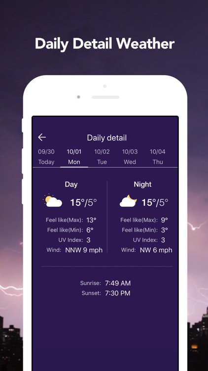 Live Weather: Weather Radar screenshot-6