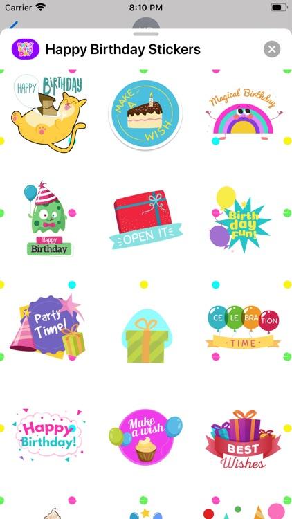Happy Birthday Animated * screenshot-5