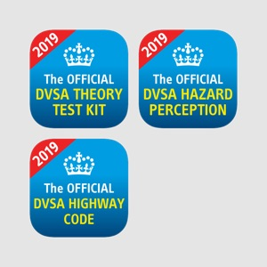 The Official DVSA Theory Test Kit, Hazard Perception and Highway Code app bundle overview, reviews and download