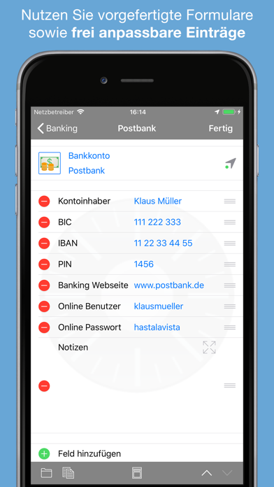 Screenshot for Safe + in Germany App Store