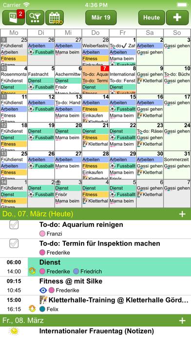 FAMANICE – FamilienkalenderScreenshot von 3