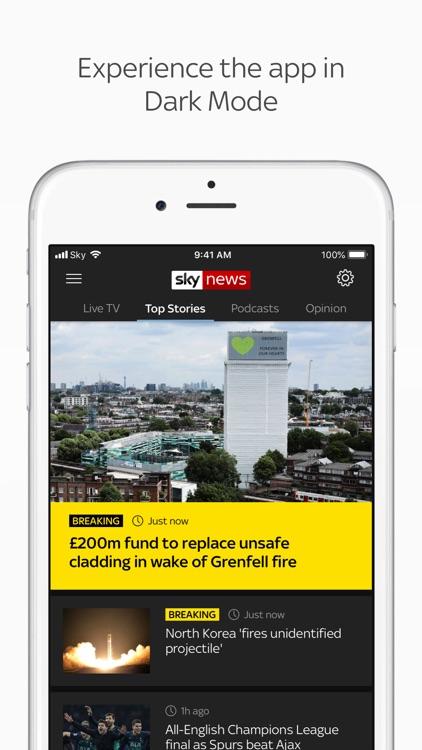 Sky News: Breaking, UK & World screenshot-7