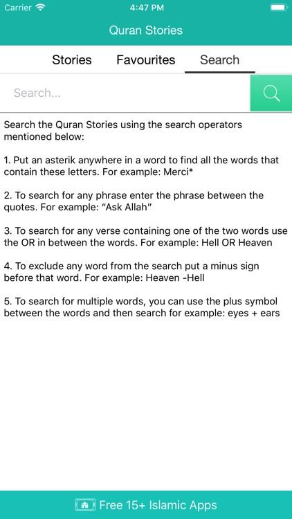 Quran Stories (Islam) screenshot-4