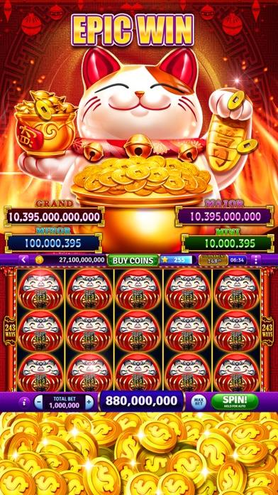 Billion Cash Slots-Casino Game Screenshot on iOS