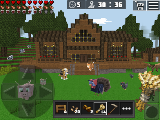 WorldCraft : 3D Build & Craft для iPad