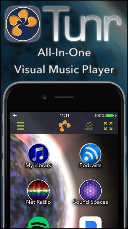 Tunr - Music Player Visualizer