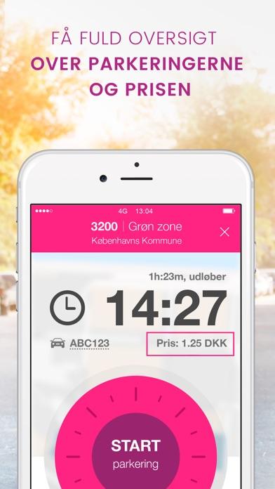 Screenshot for EasyPark - Parkerings app in Denmark App Store