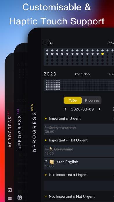 bProgress - Manage Daily Tasks Screenshots