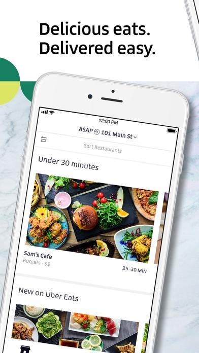 Screenshot for Uber Eats: Food Delivery in Ukraine App Store