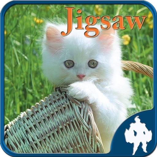 猫のジグソー パズル