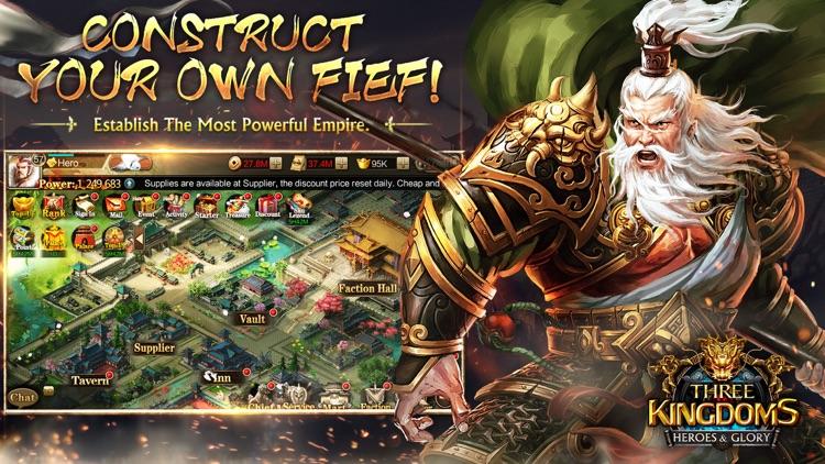Three Kingdoms: Heroes & Glory screenshot-4