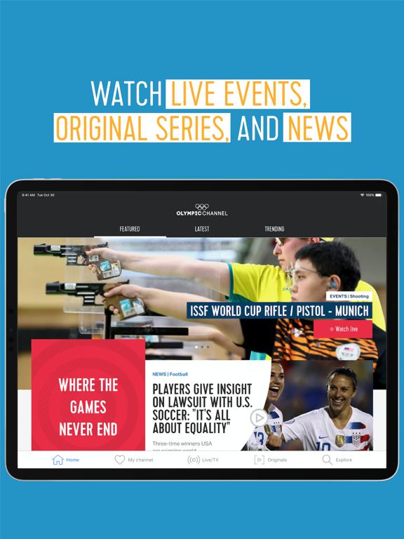 Olympic Channelのおすすめ画像1