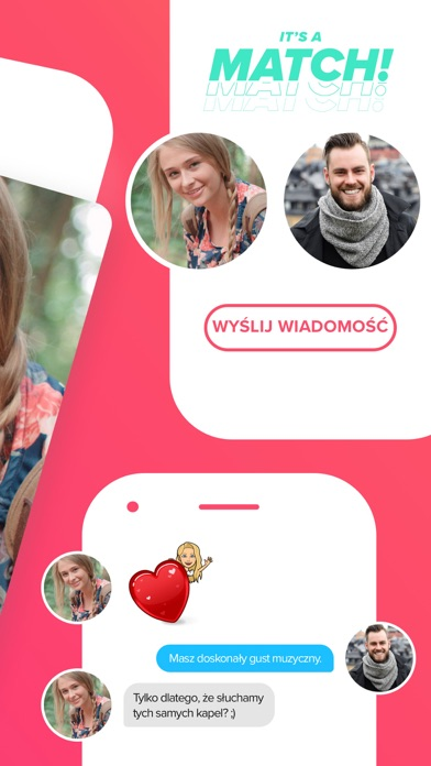 Screenshot for Tinder in Poland App Store