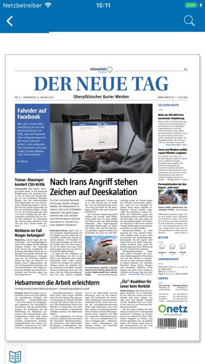 Epaper Der Neue Tag