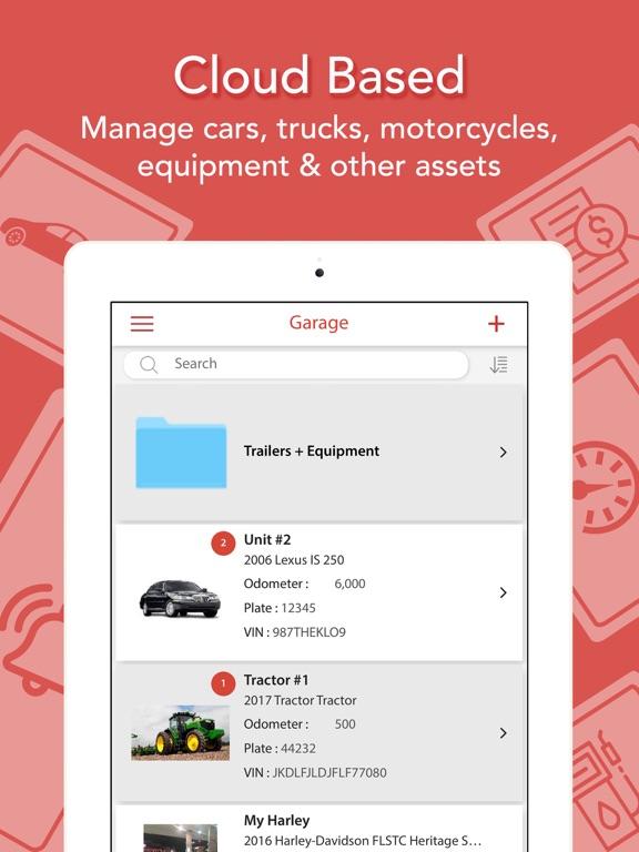 Car Maintenance & Gas Log - Track/Manage Vehicles screenshot