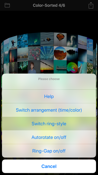 3D Photo Ring - Album Browser Screenshots