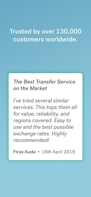 CurrencyFair Money Transfer on the App Store