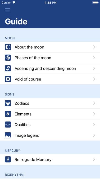MoonWorx Lunar Calendar screenshot-8