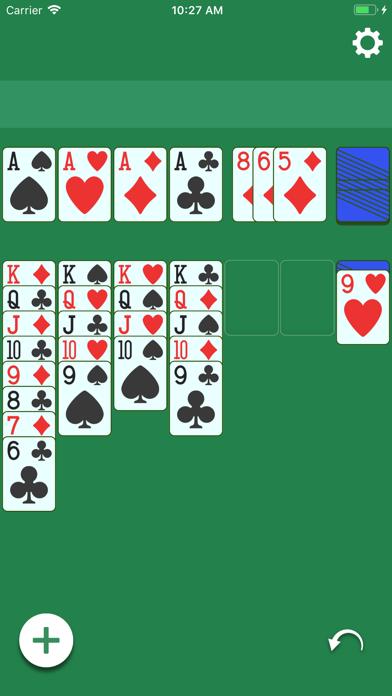 Screenshot of Solitario - Gioco di carte2