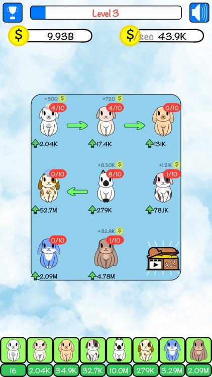 Combo Hares: Upgrade & Combine screenshot-5