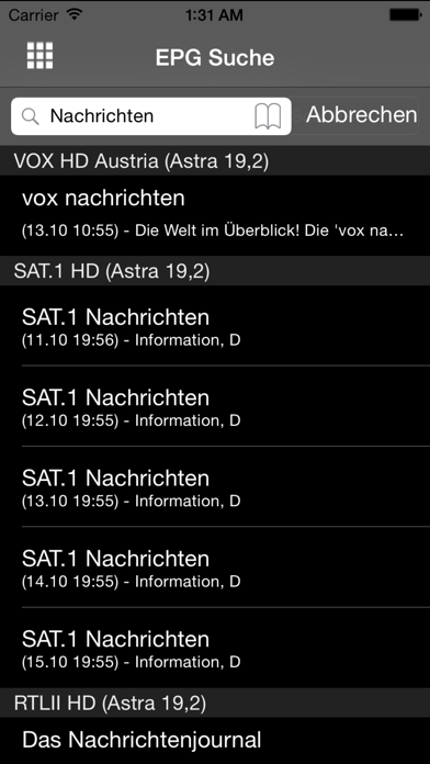 Screenshot for e2Remote Pro in Germany App Store