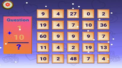 Christmas Bingo Maths For Kids screenshot two