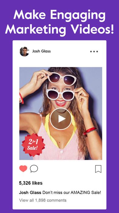 Chant - Marketing Video Maker - 窓用