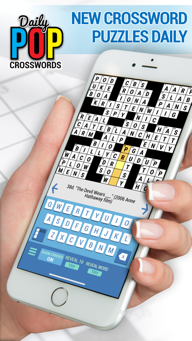Daily POP Crossword Puzzles for windows pc
