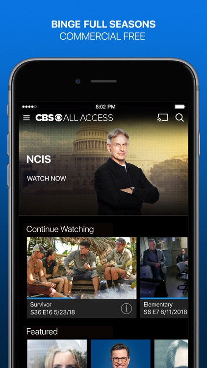 CBS All Access screenshot-0
