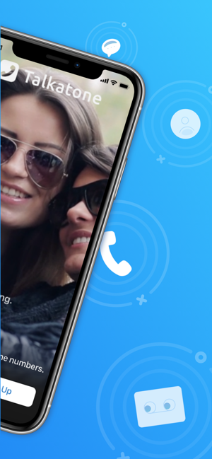 ‎Talkatone: WiFi Text & Calls Screenshot