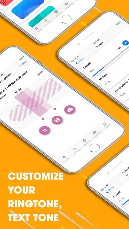 Ringtones-Ringtones Maker screenshot-3