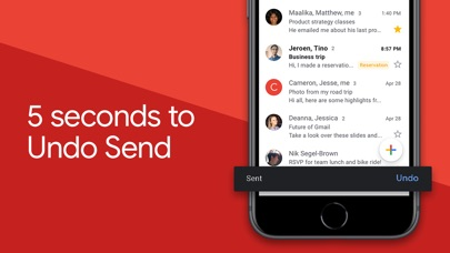 Screenshot for Gmail - Email by Google in Canada App Store