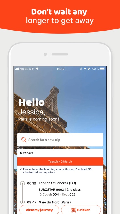 OUI.sncf: Train & Bus tickets screenshot-0