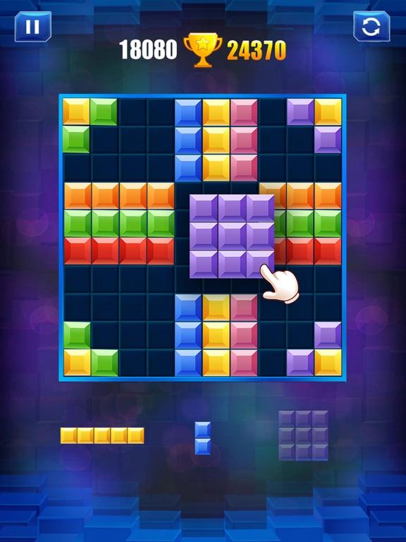 ブロックパズル-古典的な脳パズルゲームのおすすめ画像3
