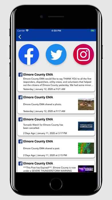 Elmore County, AL EMA screenshot #3