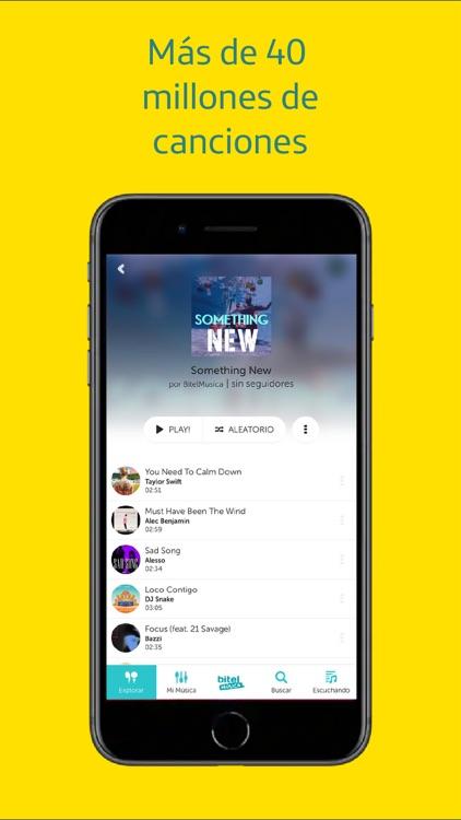 Bitel Música screenshot-3