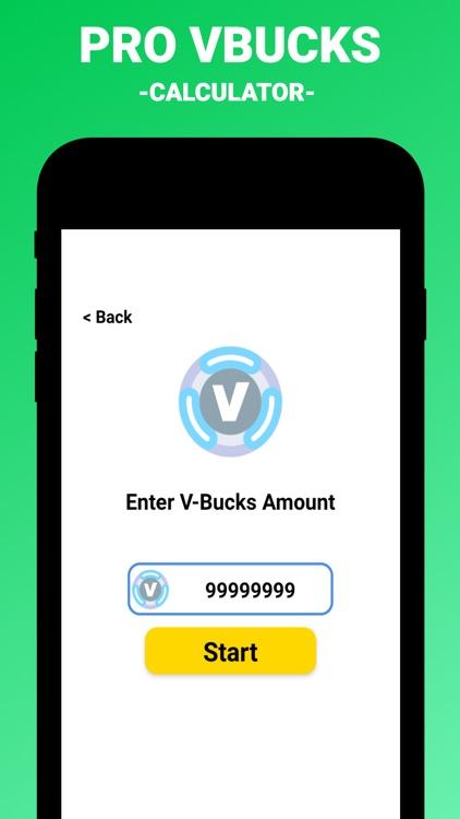 Pro VBucks Calc For Fortnite