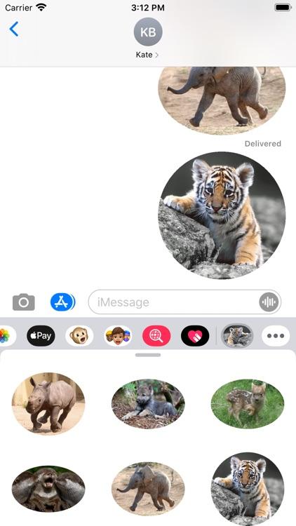 Amazing Animals Stickers Pack screenshot-4