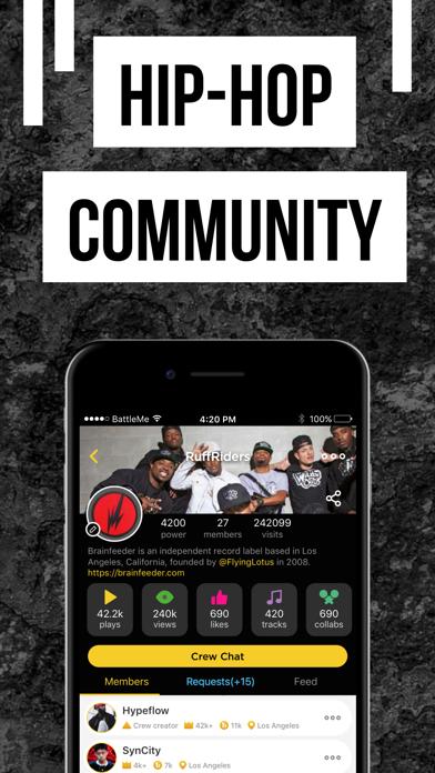 Rap Fame: Hip Hop Music Studio Screenshot