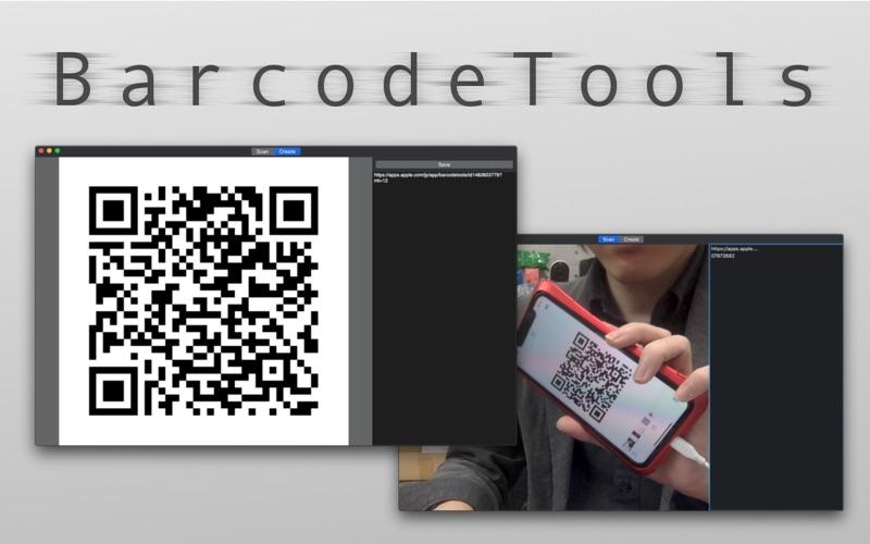 QR Code Reader :BarcodeTools for Mac