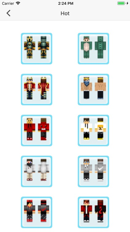 PE Skins - Skin for Minecraft screenshot-1
