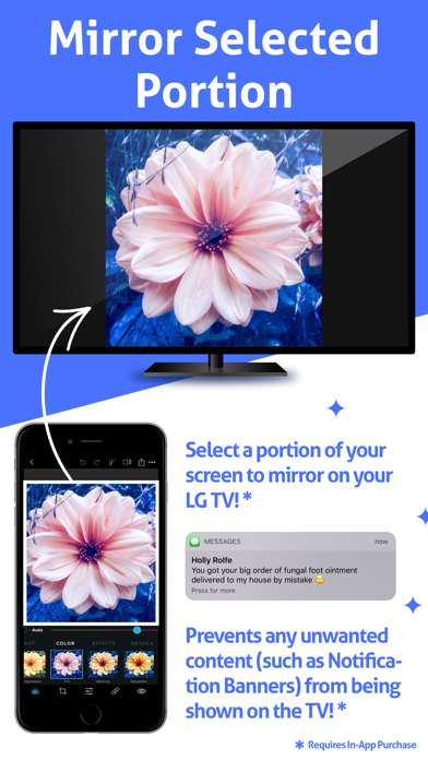 Mirror for LG TV HD app image