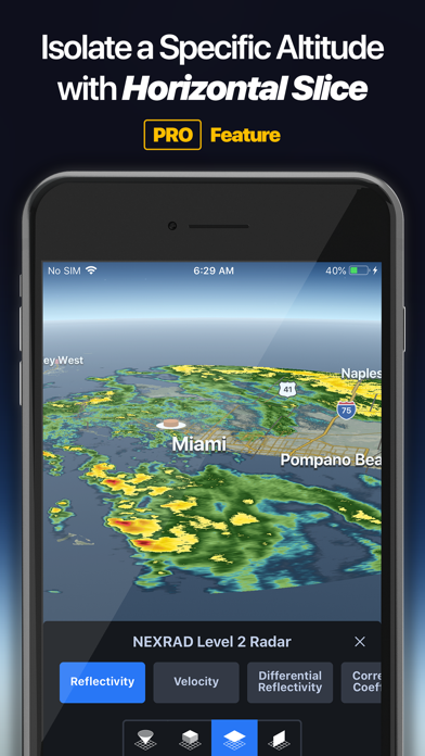 Weather Lab - 3D Radar Screenshot