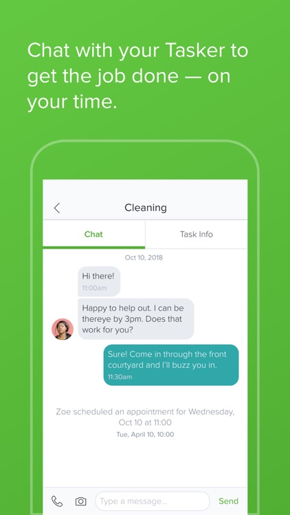 TaskRabbit - Handyman, Errands screenshot-4