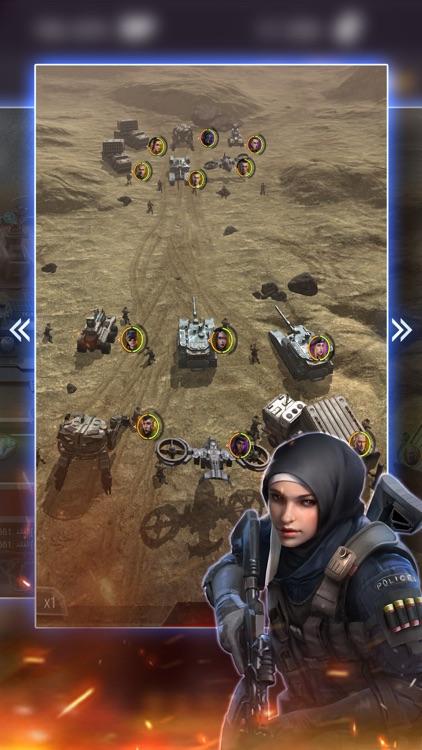 Invasion Ghosts: صقور العرب screenshot-4