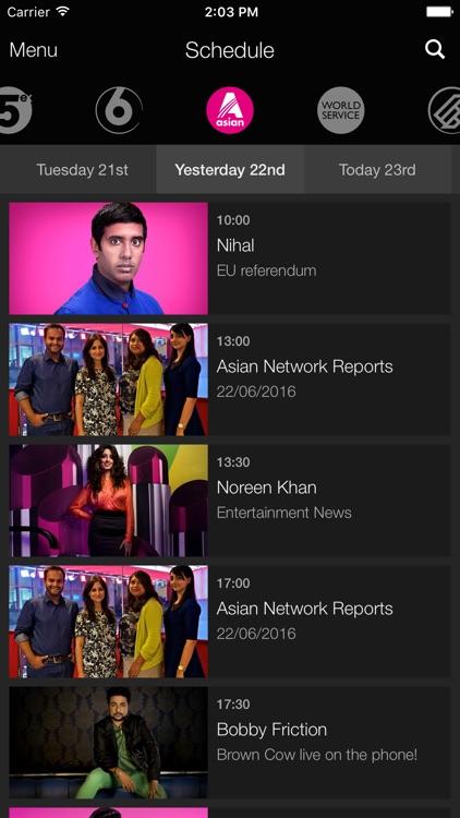 BBC iPlayer Radio screenshot-3