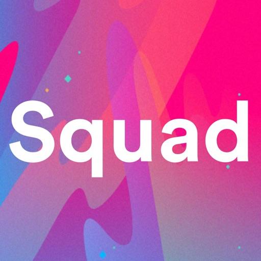 Squad - social screen sharing