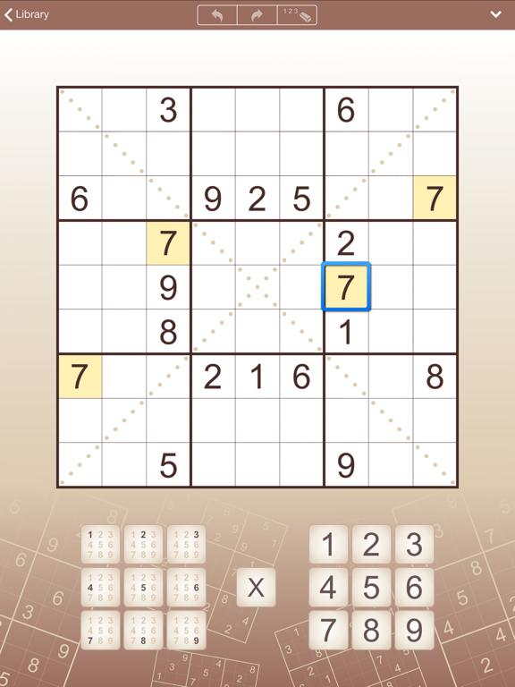 Conceptis Sudoku screenshot