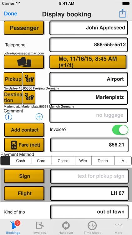 Taxi Data Manager - Driver App screenshot-3